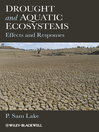 Drought and Aquatic Ecosystems (eBook): Effects and Responses